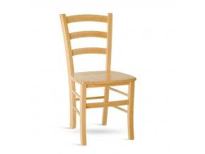Dřevěná židle Paysane masiv