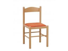 Jídelní židle Pisa čalouněná