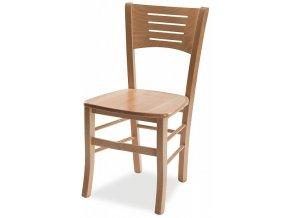 Dřevěná židle Atala masiv