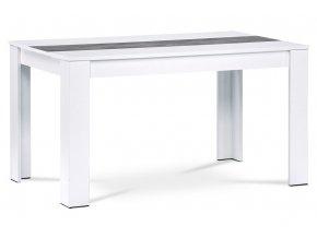 Jídelní stůl - bílá/beton DT-P140 WT