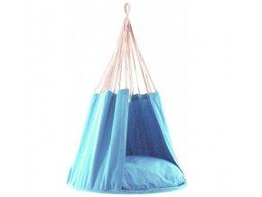 Závěsná houpačka Cocoon - modrá