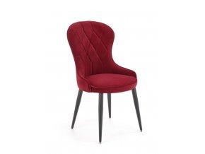 Jídelní židle K366 - bordó