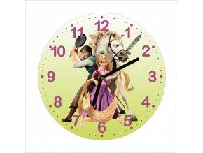 Dětské hodiny Princezna na Vlásku DHBH0560