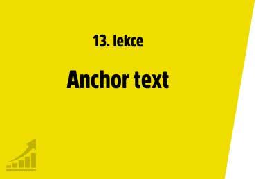 Anchor text (text odkazu)