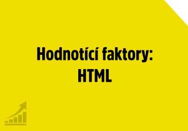 Hodnotící faktory: HTML