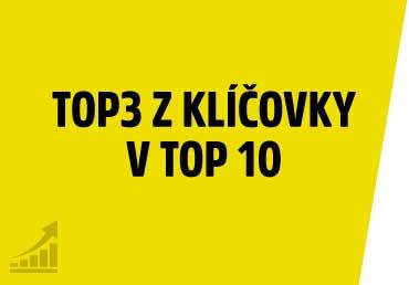 TOP 3 nejhledanější slova z klíčovky v TOP 10