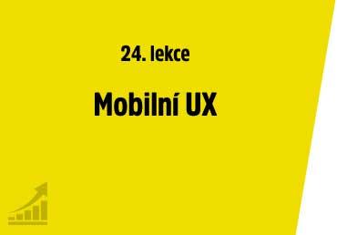 Mobilní UX
