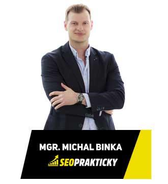 SEO specialista - Mgr. Michal Binka