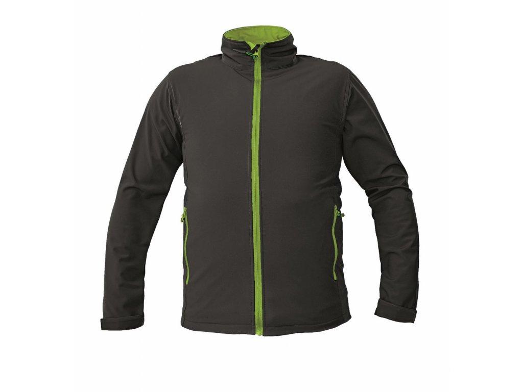 NAMSEN softshellová bunda černá (Velikost/varianta 3XL)