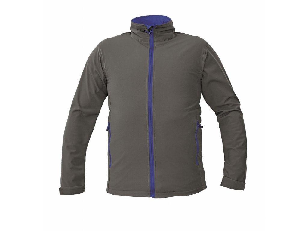 NAMSEN softshellová bunda šedá (Velikost/varianta 3XL)