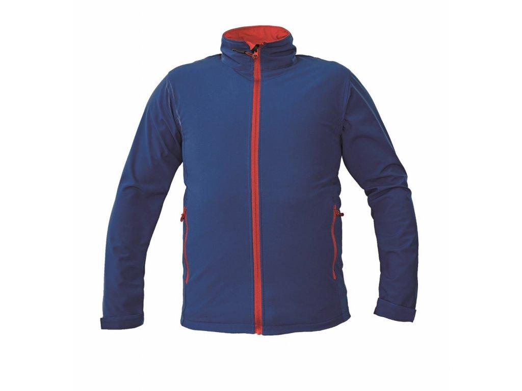 NAMSEN softshellová bunda modrá (Velikost/varianta 3XL)