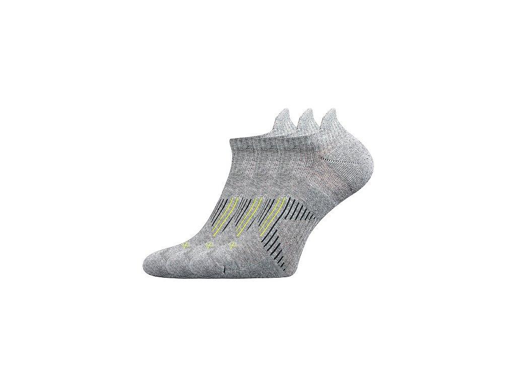 VOXX ponožky Patriot A světle šedá melé