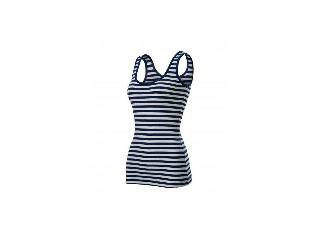 Sailor top tílko dámské námořní modrá