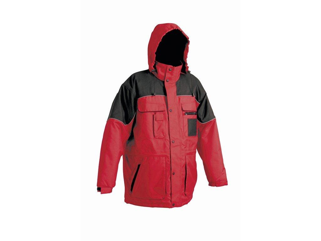 ULTIMO zimní bunda červená (Velikost/varianta 3XL)
