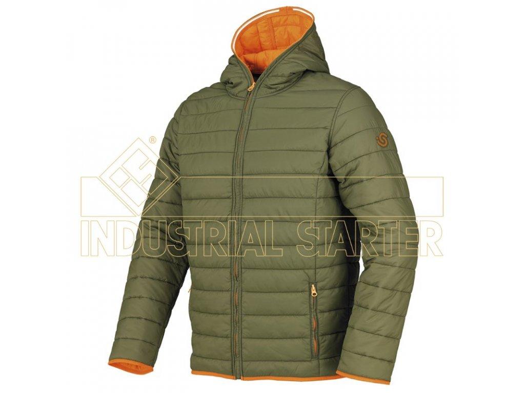 GALIBIER bunda zateplená zelená (Velikost/varianta 3XL)