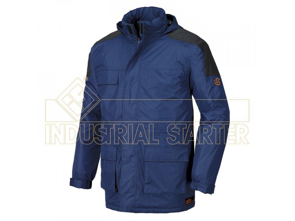 MONTREAL bunda zateplená modrá (Velikost/varianta 3XL)