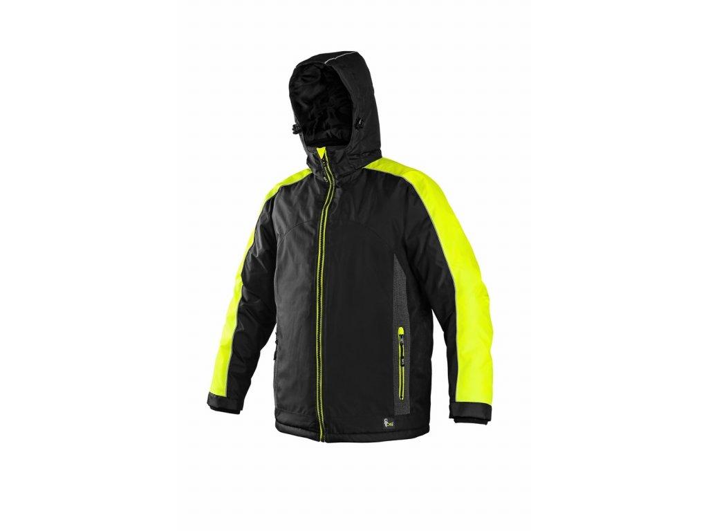 SIRIUS BRIGHTON zimní bunda černo-žlutá (Velikost/varianta 4XL)