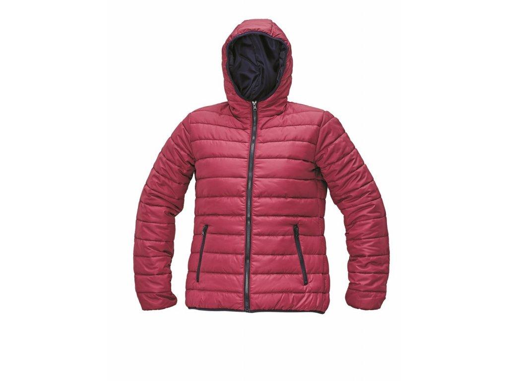 FIRTH LADY zimní bunda tmavě růžová (Velikost/varianta 2XL)