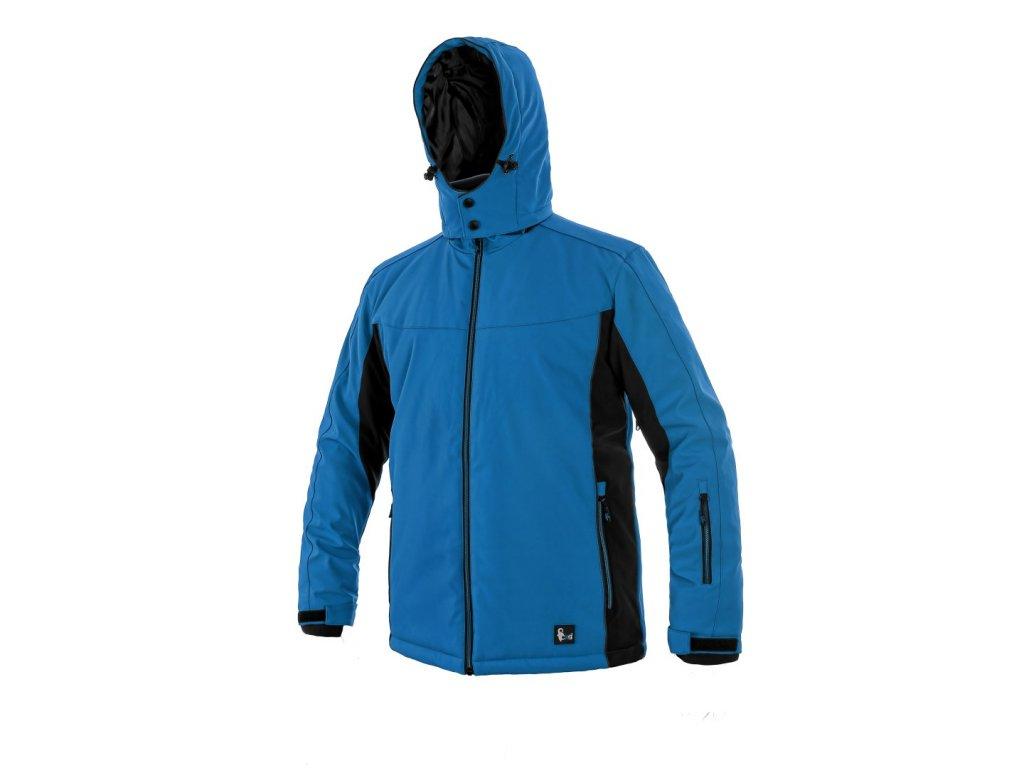Canis CXS VEGAS zimní softshellová bunda modrá černá (Velikost/varianta 4XL)