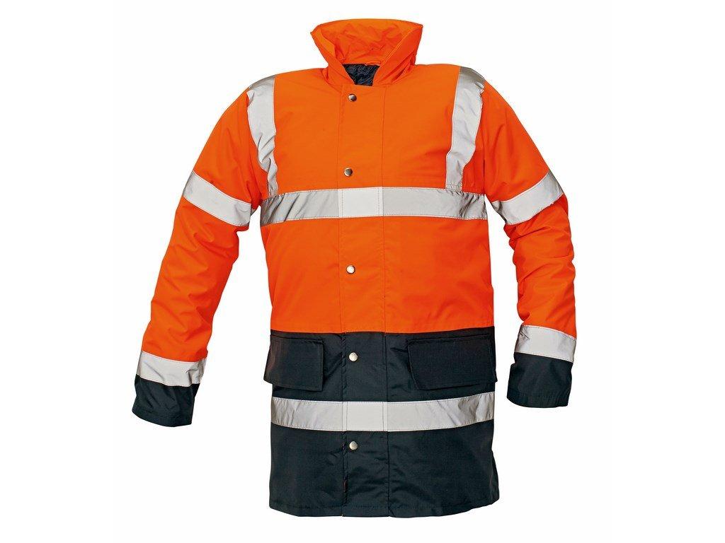 SEFTON výstražná bunda oranžová (Velikost/varianta 3XL)