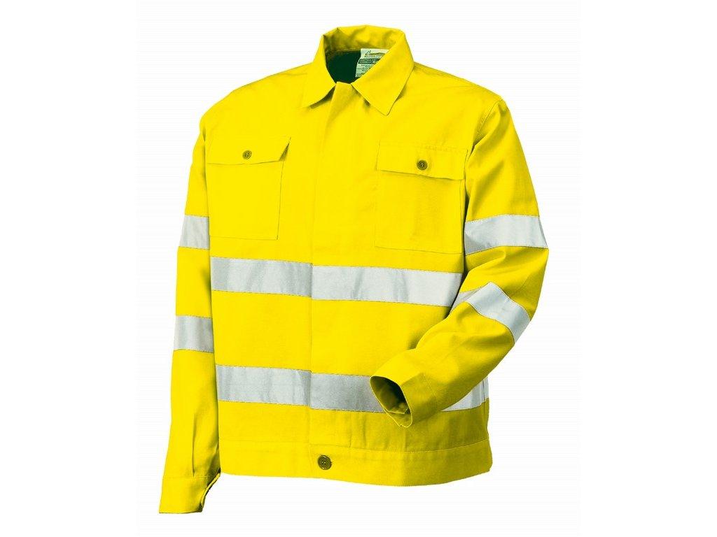 8445 AV výstražná bundokošile žlutá (Velikost/varianta 3XL)