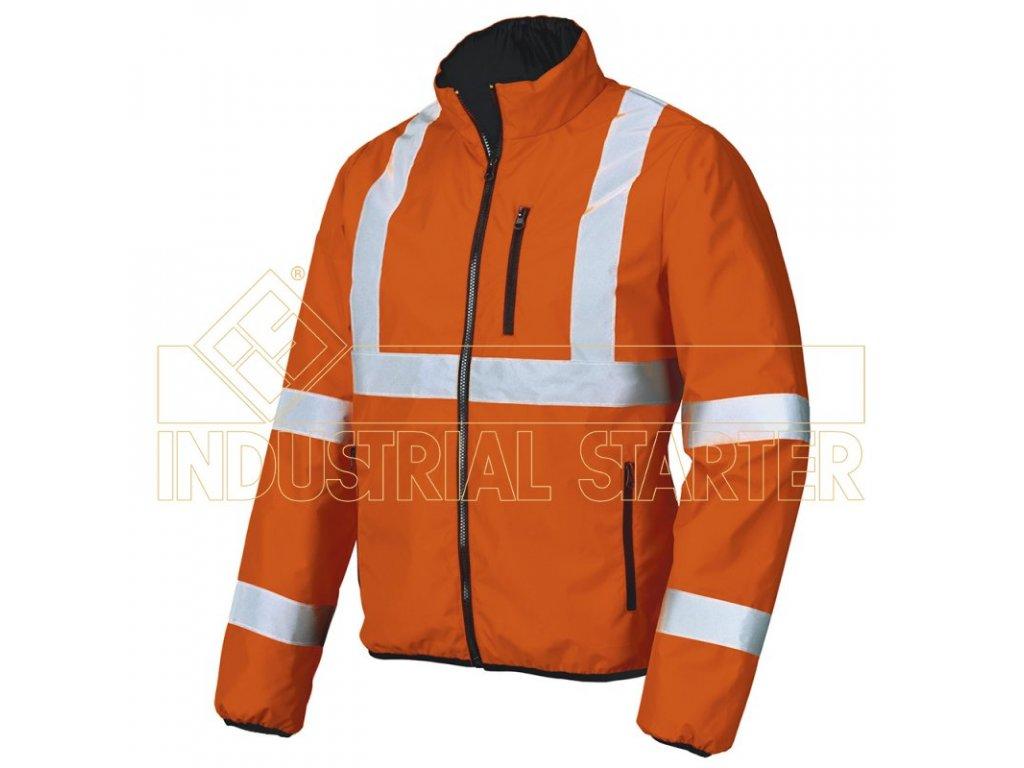 BLUNDER 04714 bunda reflexní oranžová (Velikost/varianta 3XL)