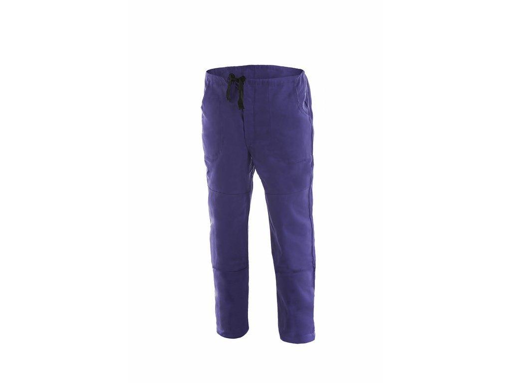 MIREK montérkové kalhoty do pasu modré (Velikost/varianta 64)