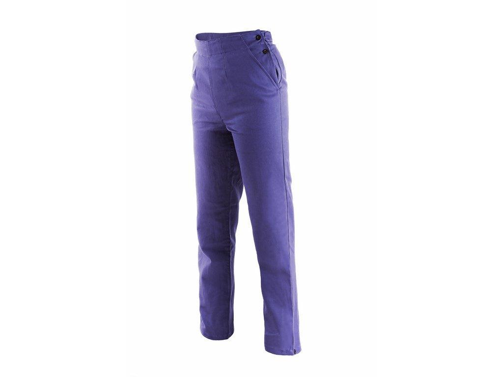 HELA dámské montérkové kalhoty do pasu modré (Velikost/varianta 64)