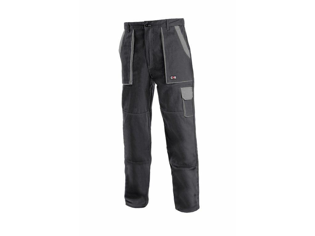 Canis CXS LUXY JOSEF monterkové kalhoty do pasu černo-šedé (Velikost/varianta 68)