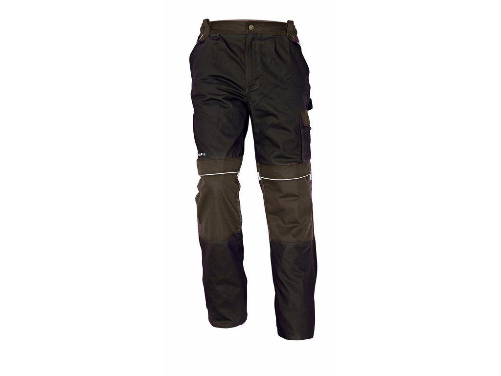 STANMORE montérkové kalhoty hnědé (Velikost/varianta 62)