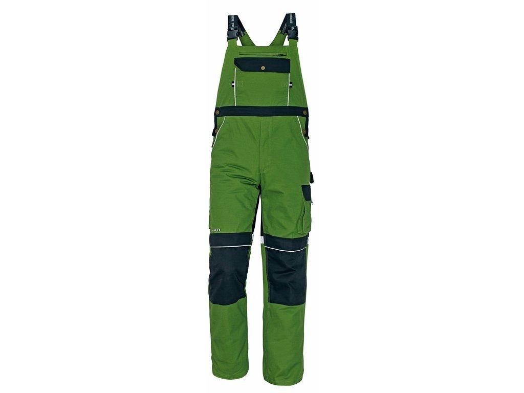STANMORE montérkové kalhoty s laclem zelené (Velikost/varianta 62)