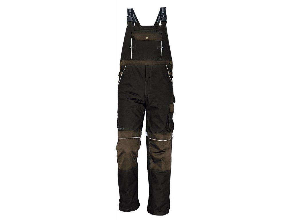 STANMORE montérkové kalhoty s laclem hnědé (Velikost/varianta 62)