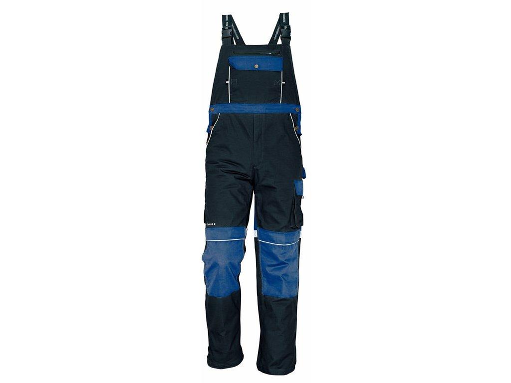 STANMORE montérkové kalhoty s laclem modré (Velikost/varianta 64)