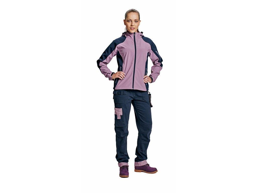 YOWIE montérkové kalhoty dámské tm.modrá (Velikost/varianta 48)