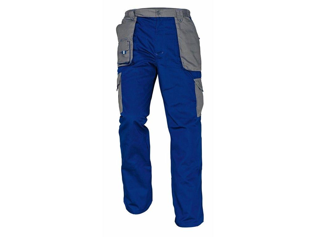MAX EVOLUTION montérkové kalhoty prodl.vel. modro-šedé (Velikost/varianta 62)