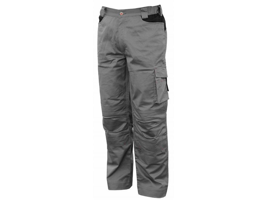 STRETCH pracovní kalhoty montérkové šedé (Velikost/varianta 3XL)