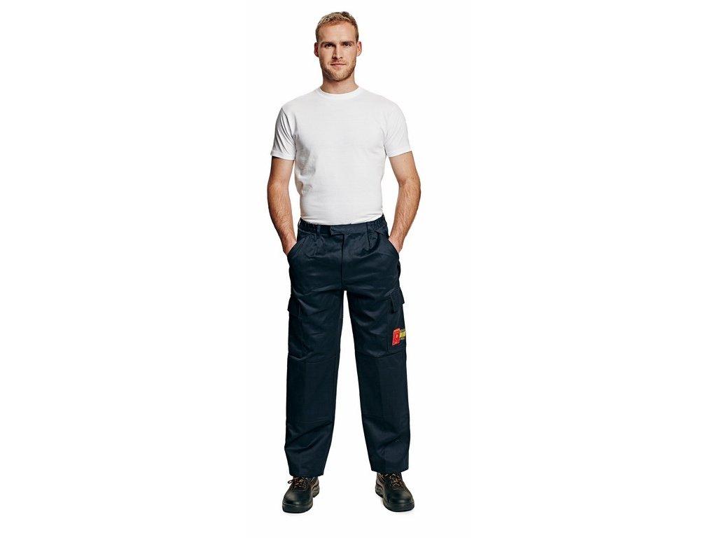 COEN kalhoty do pasu s antistat. a nehořlavou úpravou modré (Velikost/varianta 62)