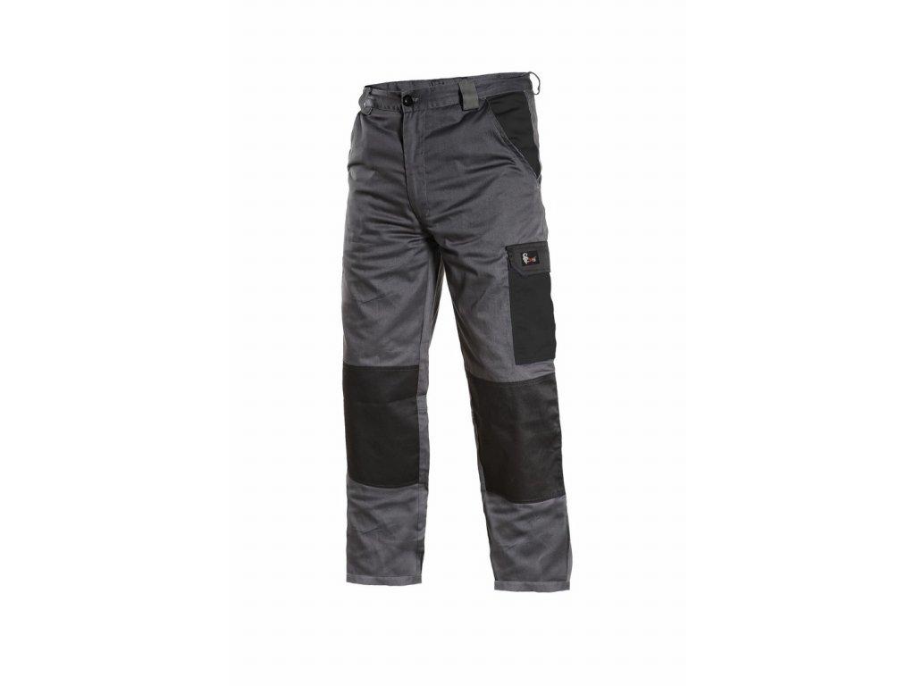 PHOENIX CEFEUS pracovní kalhoty do pasu šedo-černé (Velikost/varianta 64)