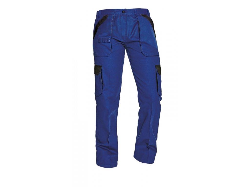 MAX LADY montérkové kalhoty modro-černé (Velikost/varianta 50)