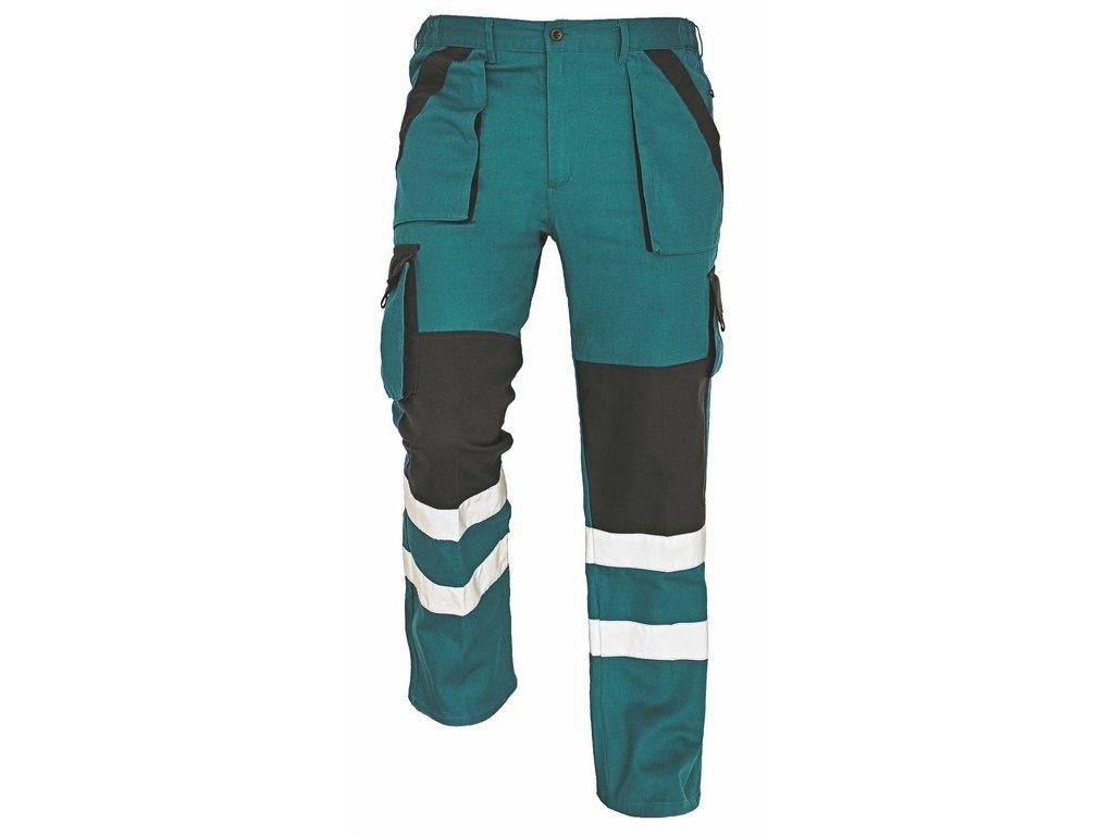 MAX RFLX montérkové kalhoty zelená-černá (Velikost/varianta 64)