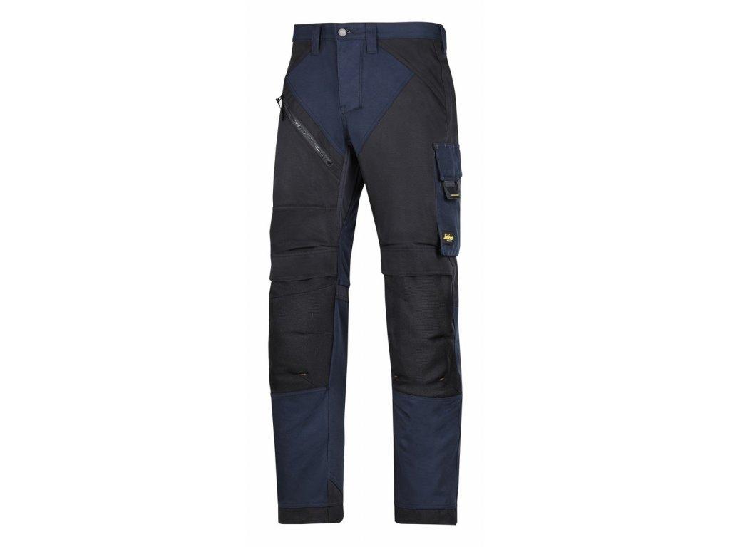 RUFFWORK pracovní kalhoty černo- modré (Velikost/varianta 64)