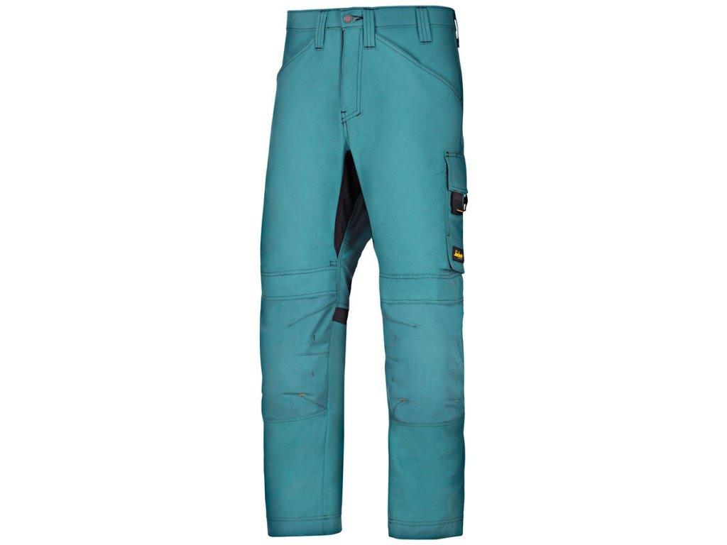 ALLROUNDWORK  pracovní kalhoty modré petrol (Velikost/varianta 64)