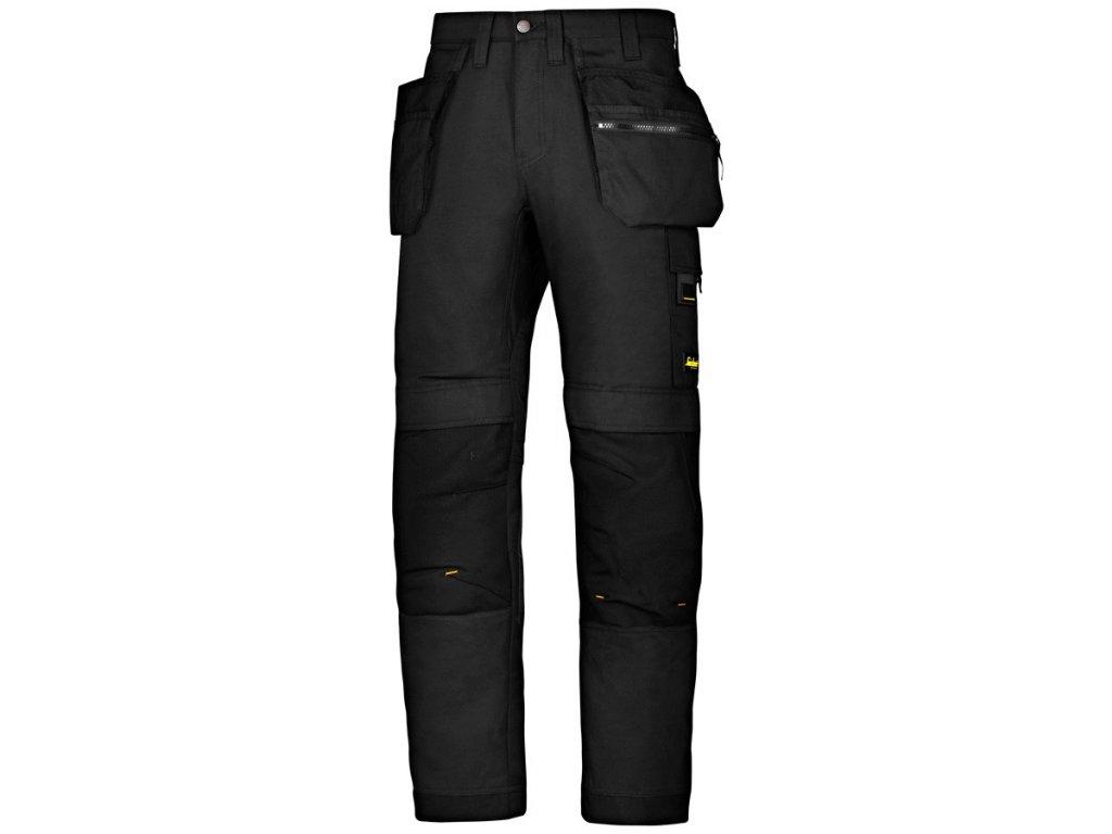 ALLROUNDWORK+ s PK pracovní kalhoty černé (Velikost/varianta 64)