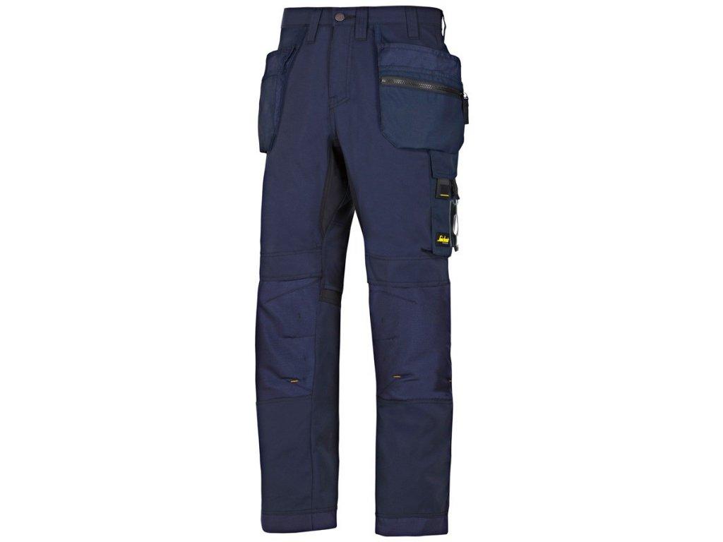 ALLROUNDWORK+ s PK pracovní kalhoty tmavě modré (Velikost/varianta 64)