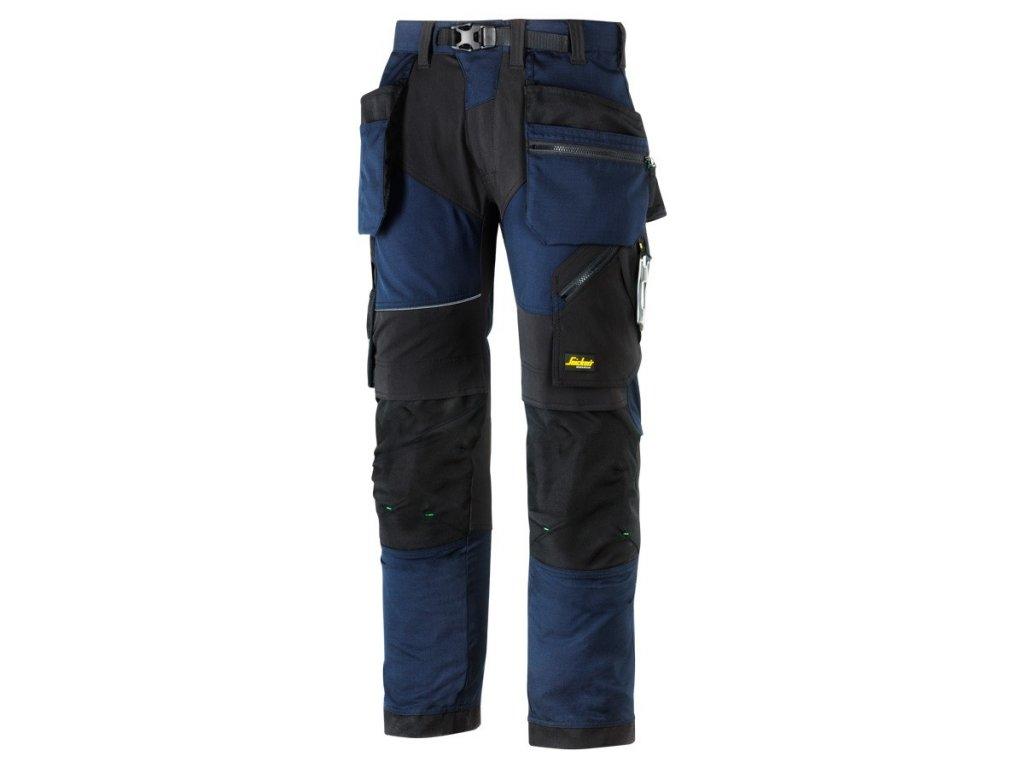 FLEXIWORK+ s PK pracovní kalhoty modré (Velikost/varianta 64)