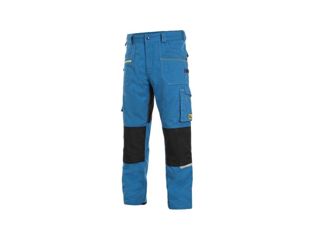 Canis CXS STRETCH monterkové kalhoty  středně modro-černá (Velikost/varianta 64)