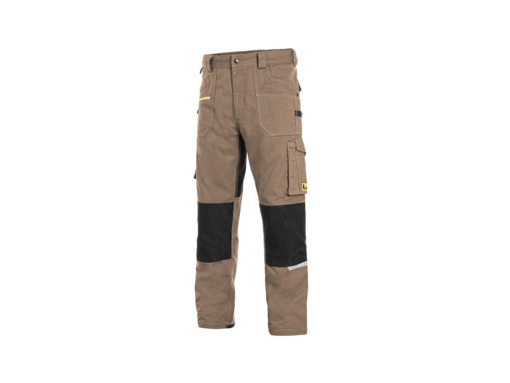 Canis CXS STRETCH monterkové kalhoty béžovo-černé (Velikost/varianta 64)