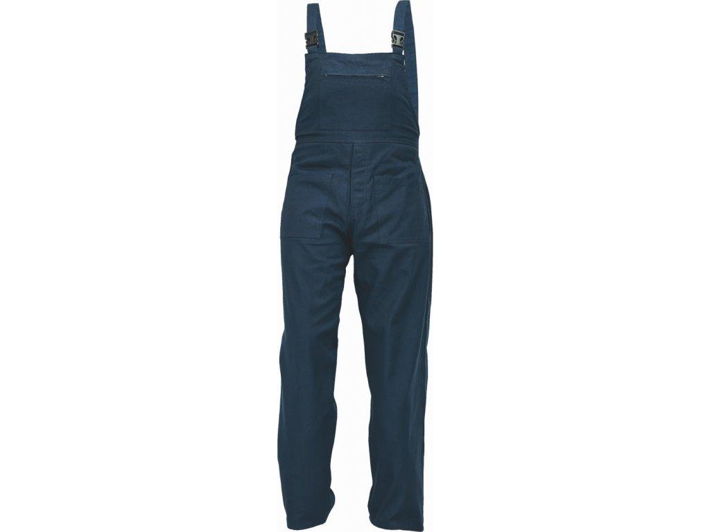 UDO BE-01-006 monterkové kalhoty laclové tmavě modré (Velikost/varianta 64)