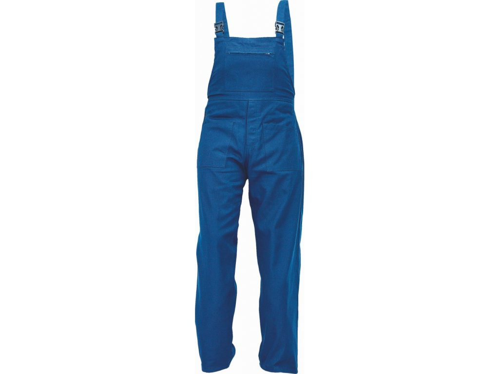 UDO BE-01-006 monterkové kalhoty laclové modré (Velikost/varianta 64)