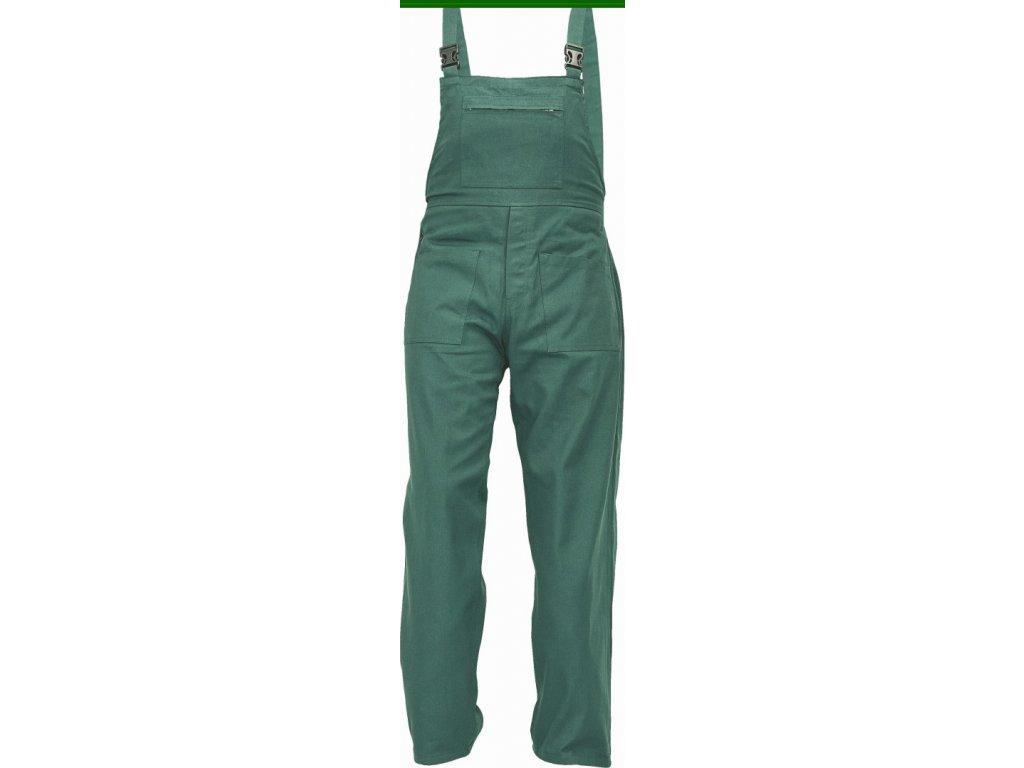 UDO BE-01-006 monterkové kalhoty laclové zelené (Velikost/varianta 64)